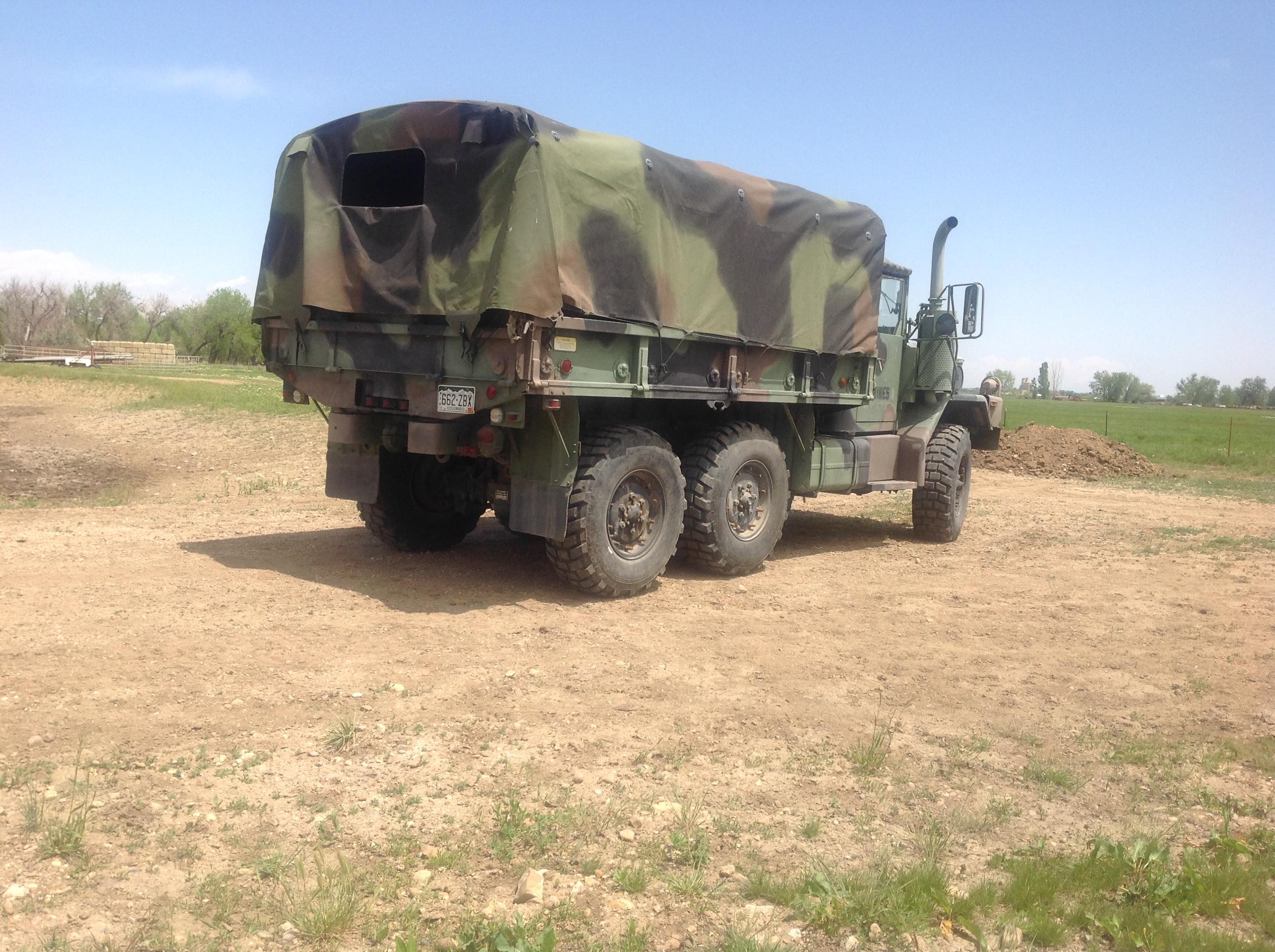 M35A3C 2.5 ton truck